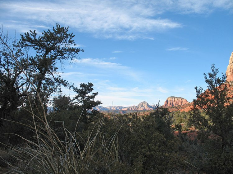 View into Soldier's Pass, Sedona Arizona
